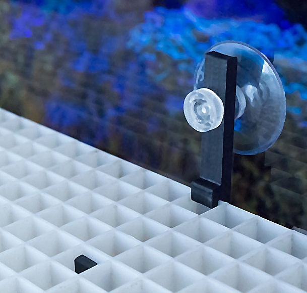 Aquaconnect Halter für Lichtrasterplatten
