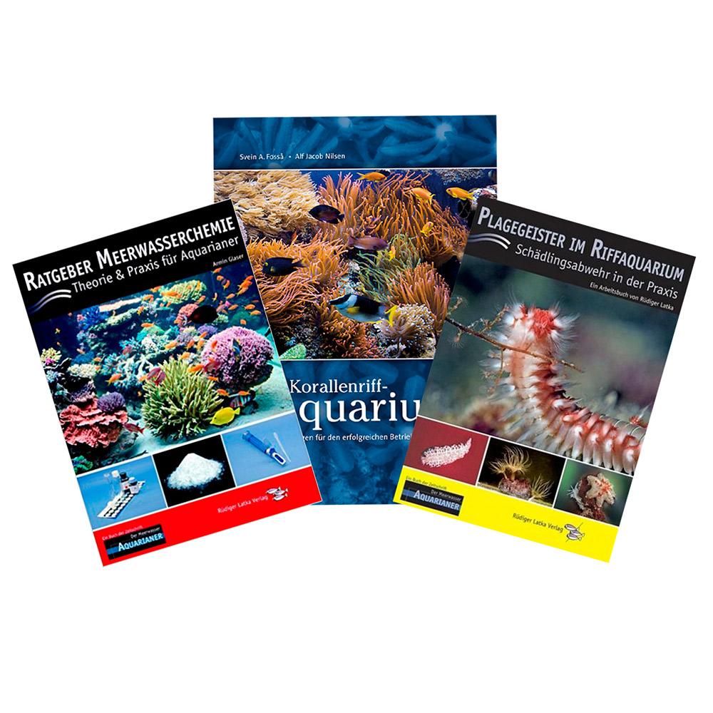 4 X Bücher Meerwasser Aquaristik Ratgeber Korallen