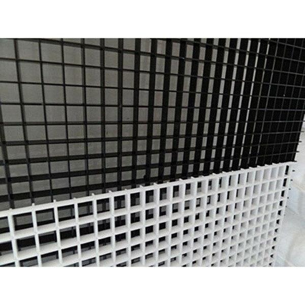 KRC Lichtrasterplatte Wabe, 13x13x9mm, weiß