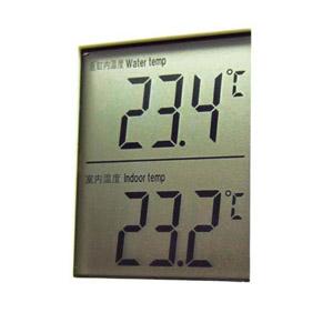 Die Wassertemperatur muß regelmäßig gemessen werden